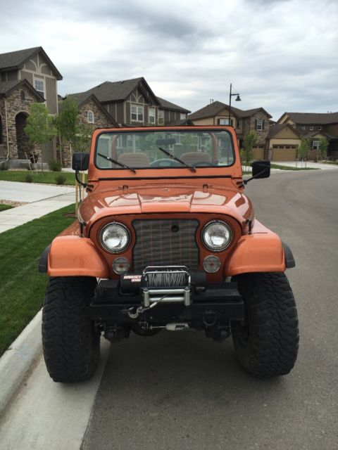 1979 Jeep Cj7 Renegade Levi Edition For Sale Jeep Cj