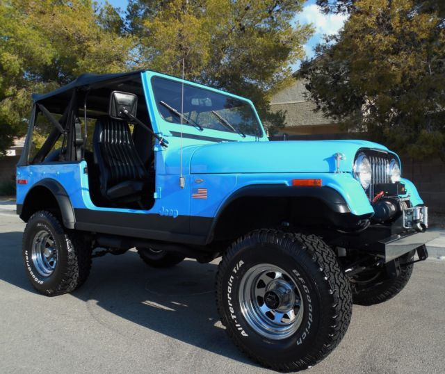 1979 Jeep CJ7 RESTORED V8 Motor 4 Wheel Drive Show & Go Ready SEE
