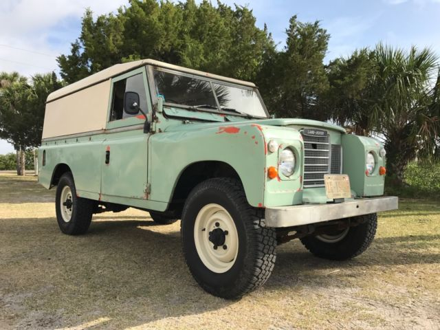 1979 land rover series iii 109 for sale land rover other 1979 for sale in saint augustine. Black Bedroom Furniture Sets. Home Design Ideas