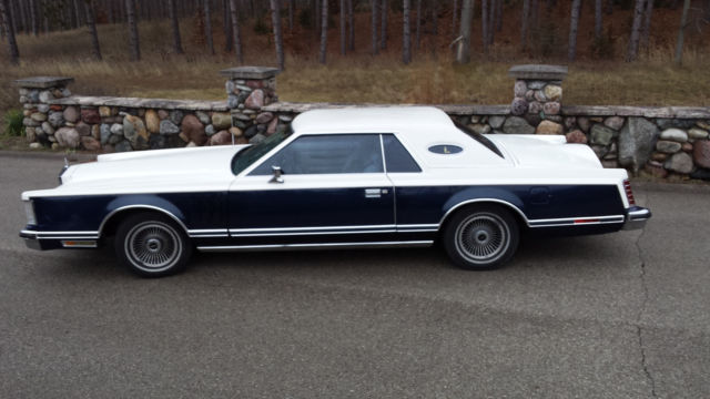 1979 Lincoln Continental Mark V Bill Blass Edition For