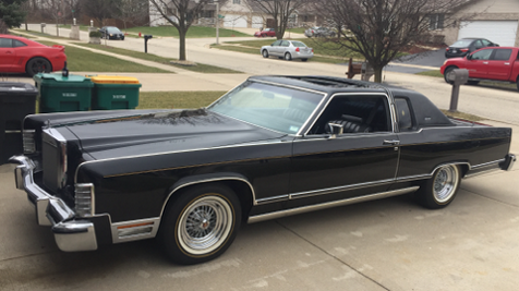 1979 Lincoln Continental Town Coupe - Clean - 60K Original