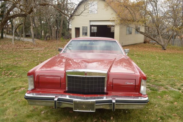 1979 Lincoln Mark V Moon Roof For Sale Lincoln Mark