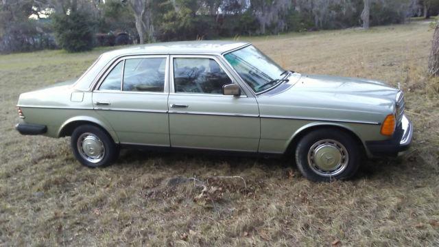 1979 mercedes 300d w books 68k miles very nice shape for Mercedes benz 300d parts