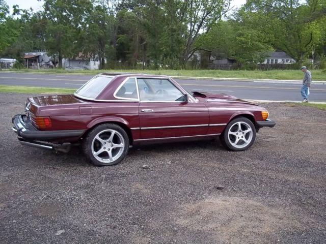 1979 mercedes 450sl w107with a 454cid 7 4l big block for Mercedes benz cupertino