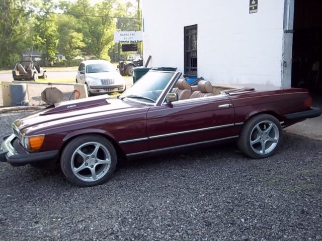 1979 mercedes 450sl w107with a 454cid 7 4l big block for 1979 mercedes benz 450sl for sale