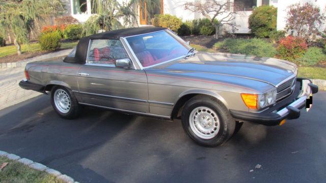 1979 mercedes benz 450sl roadster convertible hardtop for for Mercedes benz hardtop convertible for sale