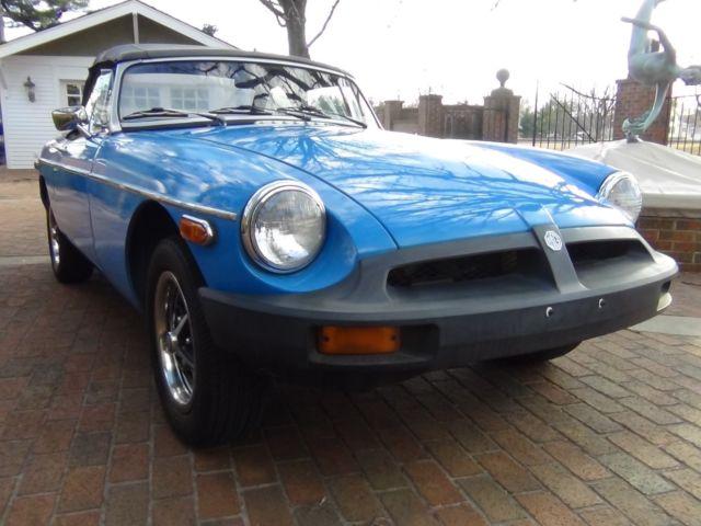 1979 Mgb Convertible Runs And Drives Great For Sale Mg