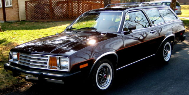 1979 pinto wagon dk brown met tan int time warp survivor w 46k rebuilt auto 4cyl for sale ford. Black Bedroom Furniture Sets. Home Design Ideas