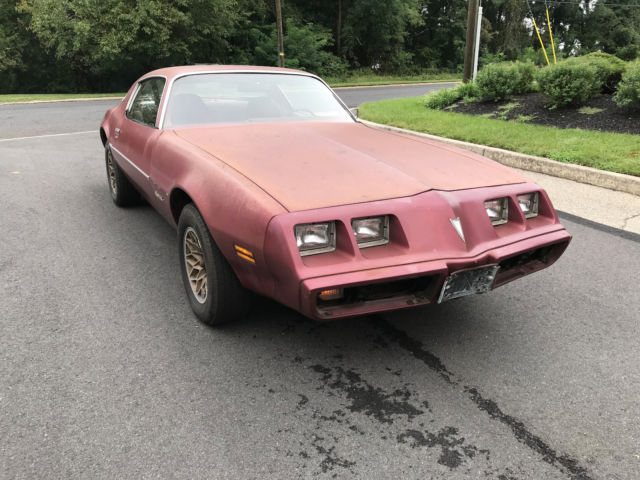 1979 Pontiac Firebird V6 Auto Project Or Custom Race Car Or For Parts For Sale Pontiac Firebird 1979 For Sale In Riverton New Jersey United States
