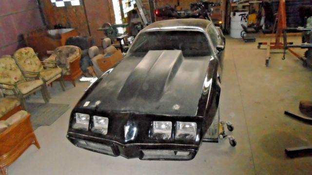 1979 Pontiac Trans Am Project Car, Hot Rod, Rat Rod, 6 6L