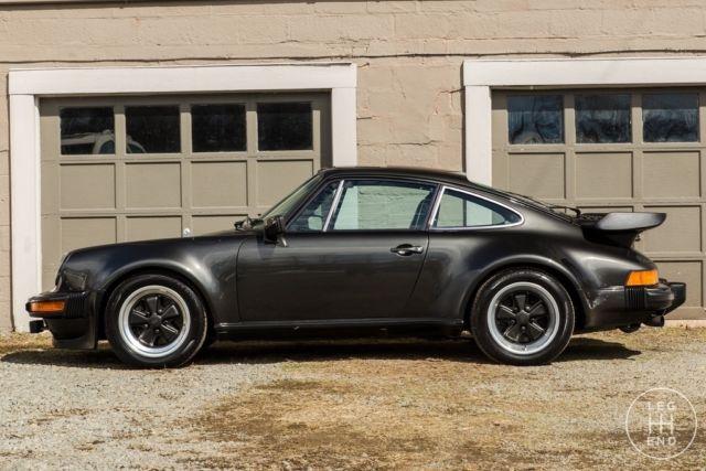 1979 Porsche 911 Turbo Black Metallic Sport Seats Lsd