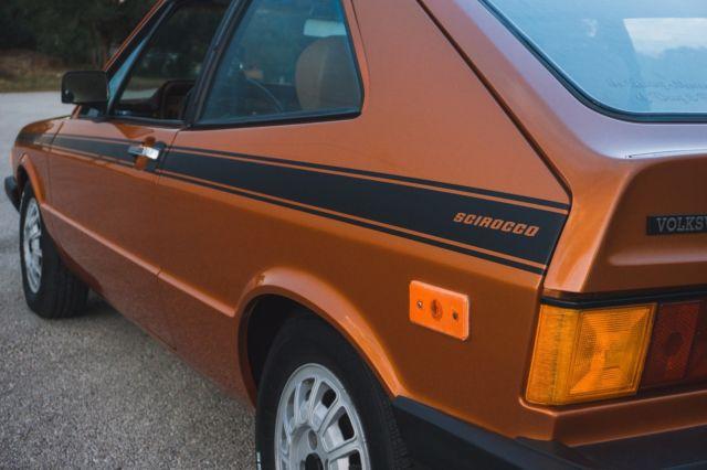 1979 Volkswagen Scirocco 1.6 8v Brasil Braun Metallic Mk1 5 speed RESTORED for sale - Volkswagen ...