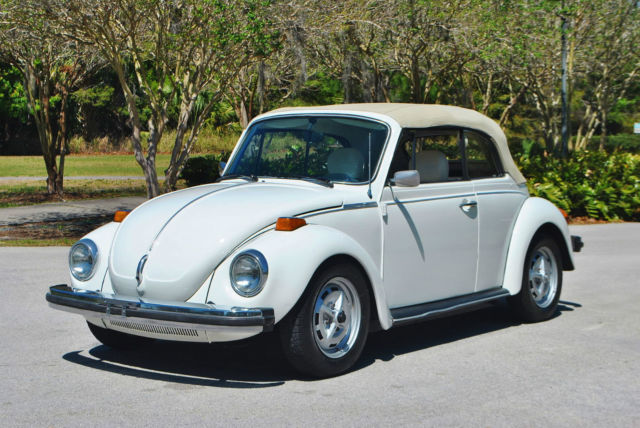 1979 VW Beetle Convertible 56,041 Original Miles! Fuel Injected Drives Great! for sale ...