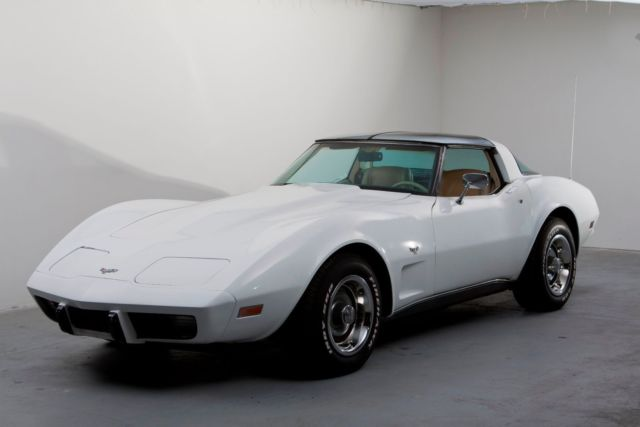 1979 White, over Tan 4 Speed Manual Trans, GM Performance ZZ4 355hp crate engine for sale ...