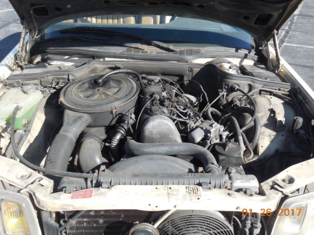 198 3 mercedes benz 300sd turbo diesel w126 for Mercedes benz diesel engines for sale