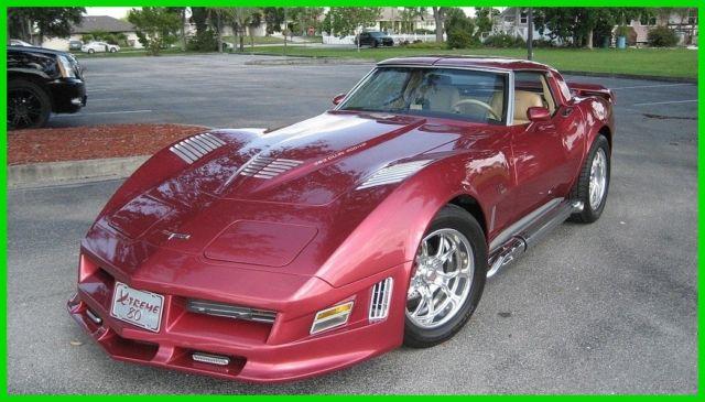 1980 Chevrolet Corvette,425 HP,383CI Blue Print Engine,700 R4 Trans