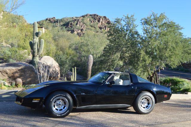 1980 corvette l82 41k original miles garage kept gem for sale chevrolet corvette l82 1980. Black Bedroom Furniture Sets. Home Design Ideas