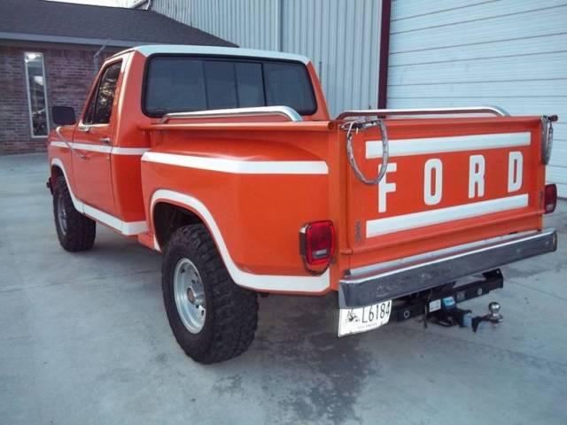 1980 ford f 150 4x4 stepside manual 4 speed 4wd i6 4 9l gasoline for sale ford f 150 4x4. Black Bedroom Furniture Sets. Home Design Ideas
