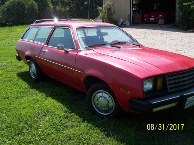 1980 Ford Pinto Wagon Original Survivor Complete Running Great Old