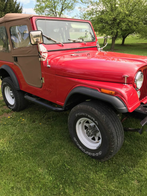 1980 jeep cj5 base sport utility 2 door 4 2l for sale. Black Bedroom Furniture Sets. Home Design Ideas