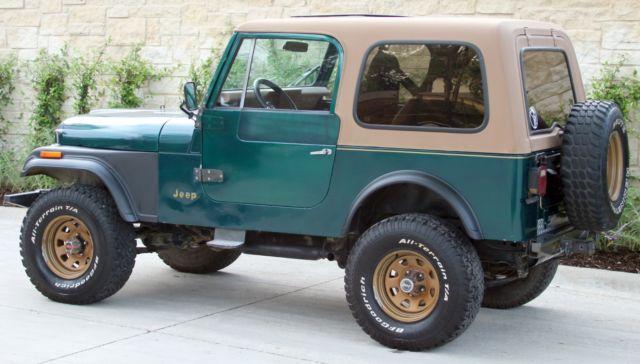 1980 Jeep Cj7 Cj Cj 7 Golden Eagle For Sale Jeep Cj