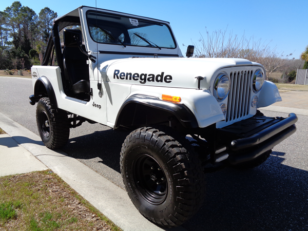 1980 jeep cj7 renegade sport utility 2 door 4 2l for sale jeep other 1980 for sale in north. Black Bedroom Furniture Sets. Home Design Ideas