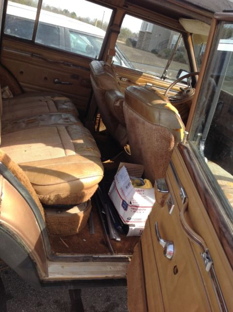 1980 jeep wagoneer limited amc 360 loaded winch xd lifited