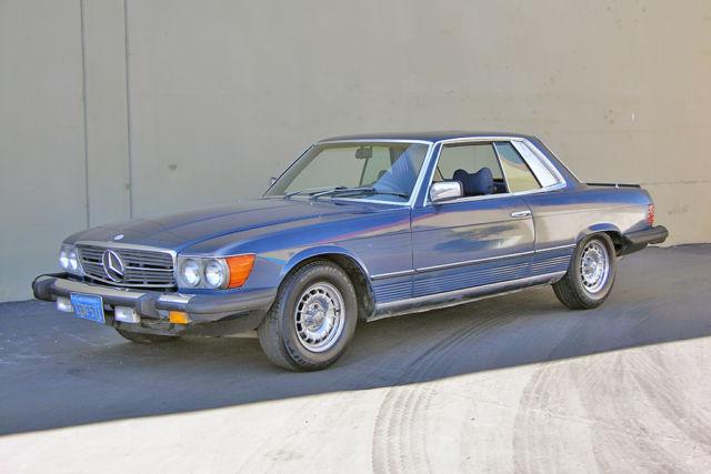 1980 mercedes 500slc rare euro model solid project for Mercedes benz burlingame