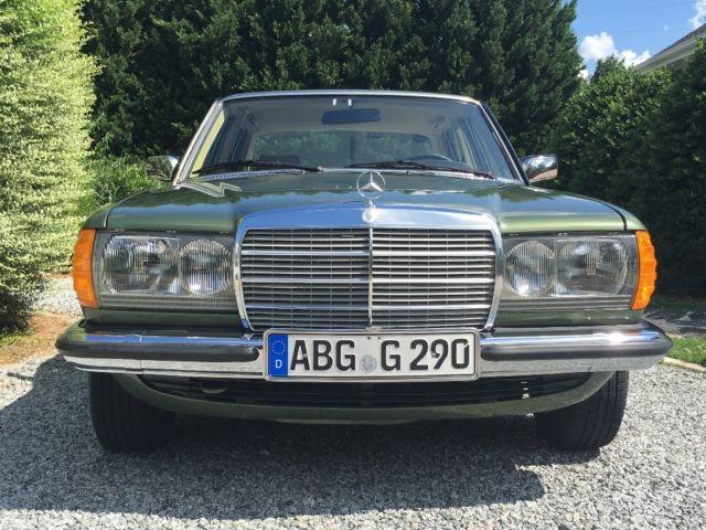 1980 mercedes benz 280e euro w123 for sale mercedes benz for Mercedes benz huntersville nc