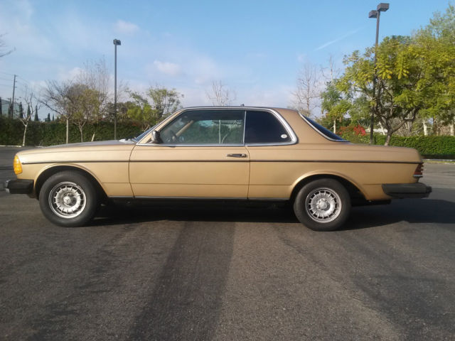 1980 mercedes benz 300cd coupe diesel w123 for sale for Mercedes benz 300 diesel