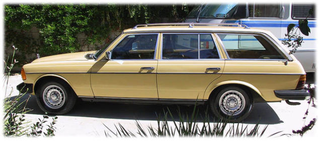 1980 mercedes benz 300td w123 wagon converted to run wvo biodiesel or diesel for sale. Black Bedroom Furniture Sets. Home Design Ideas