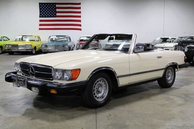 1980 mercedes benz 450 sl 87417 miles beige tan convertible 4 5 liter v8 auto for sale. Black Bedroom Furniture Sets. Home Design Ideas