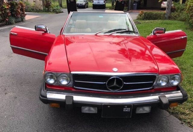 1980 mercedes benz 450sl complete restoration in out for Mercedes benz for sale in florida