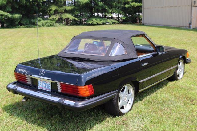1980 mercedes benz 450sl r107 convertible roadster black for Mercedes benz 450sl interior parts