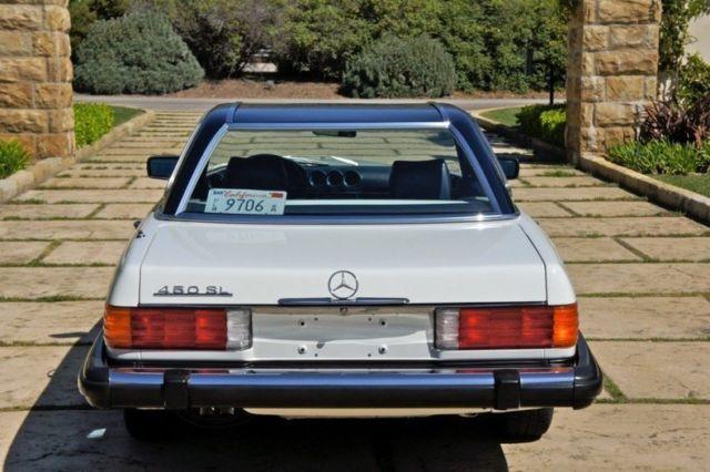 1980 mercedes benz 450sl roadster 12k doc mi for Mercedes benz bloomfield mi