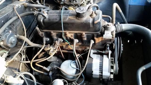 1980 MGB LIMITED EDITION Roadster (Black) for Restoration or