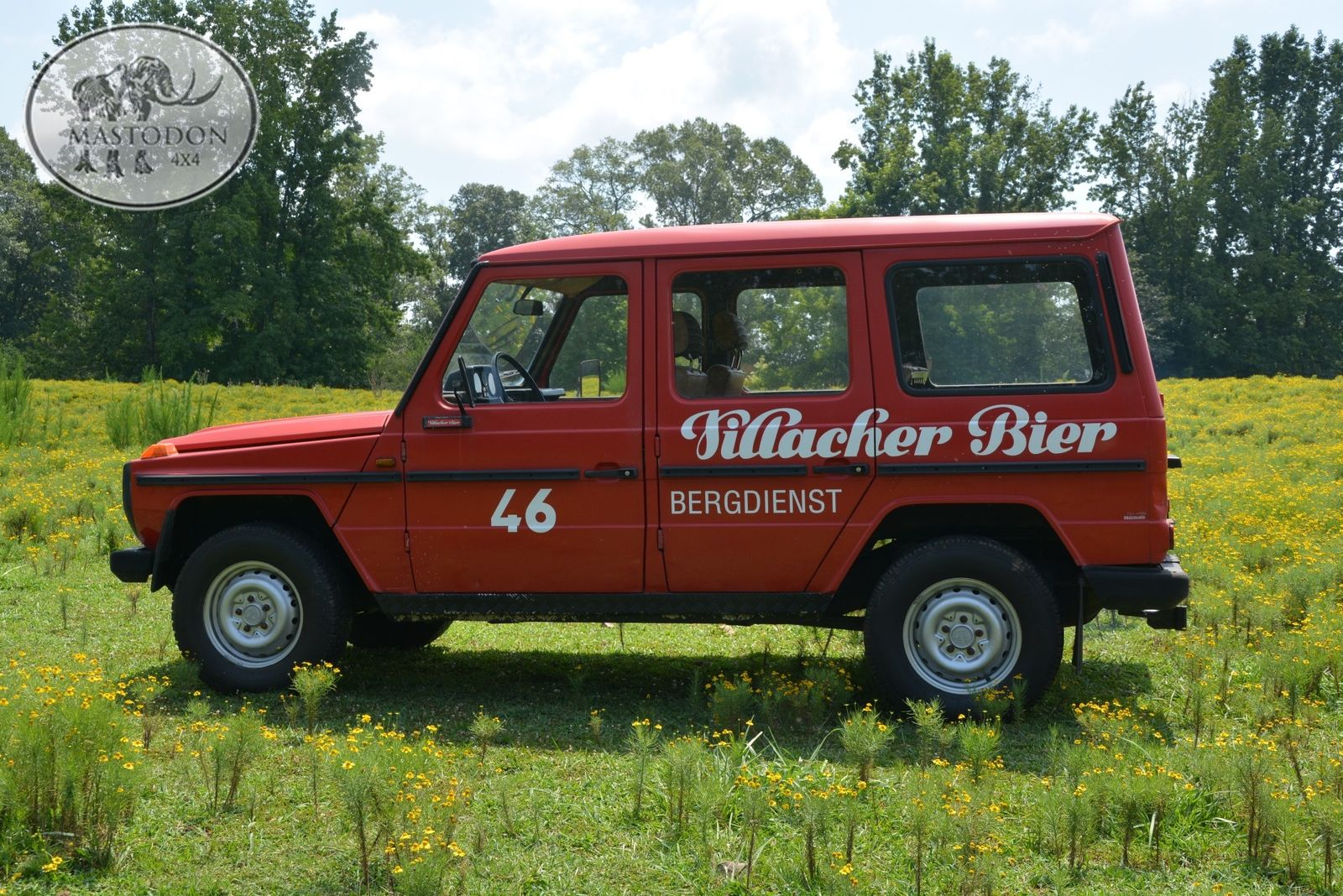 1980 Red BARN DOOR 230GE RED 4x4 HARDTOP G-class G-wagen ...