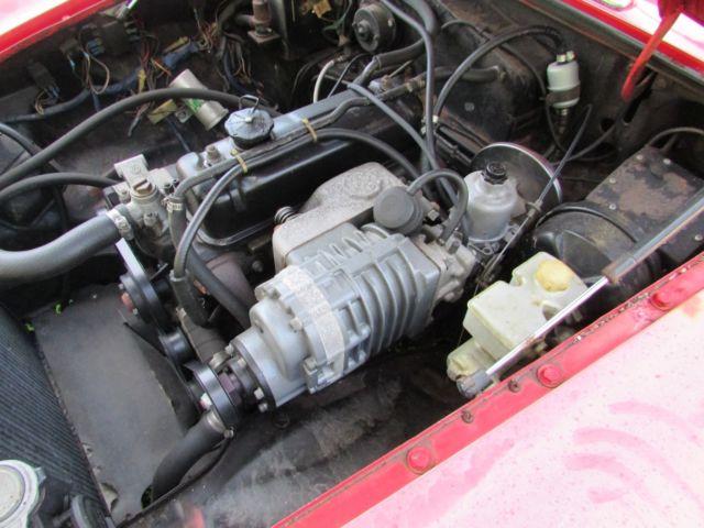 1980 Special MGB,Minilites,Overdrive,Supercharger,Rebuilt engine for