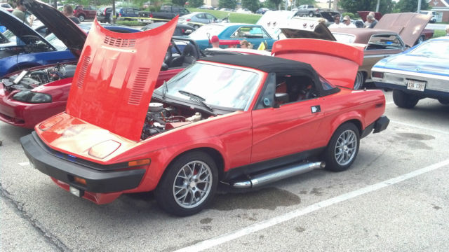 1980 Triumph TR7 Buick V6 Customized Almost Everything New for sale