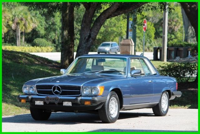 1980 used automatic mercedes benz slc automatic for sale for Mercedes benz slc for sale