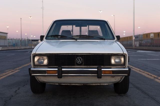 1980 volkswagen mk1 rabbit truck caddy 1 6td 5 speed. Black Bedroom Furniture Sets. Home Design Ideas