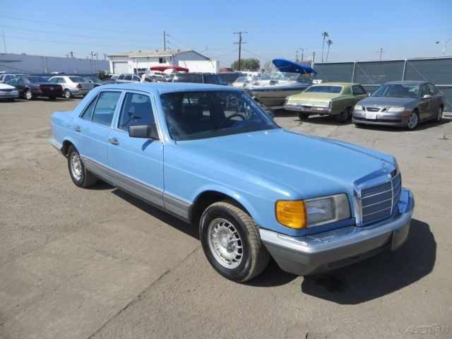 Mercedes Benz Of Anaheim >> 1981 4 Dr Turbodiesel Used Turbo 3L I5 10V Automatic RWD NO RESERVE for sale - Mercedes-Benz 300 ...