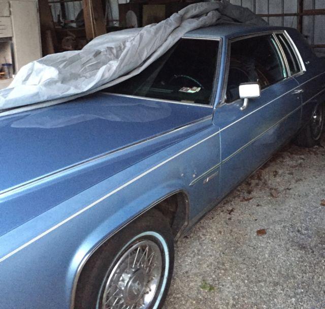 1981 Cadillac Coupe DeVille LOW MILES NO RESERVE For Sale