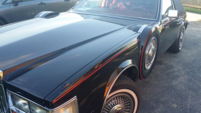 1981 cadillac seville opera coupe low miles only 250 made. Black Bedroom Furniture Sets. Home Design Ideas