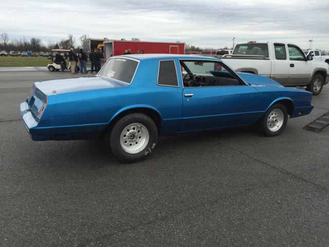 1981 Chevrolet Monte Carlo Drag Car Street Legal 600 Hp