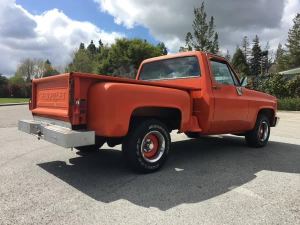 1981 Chevy Chevrolet Step Side Pick Up Custom Deluxe C 10