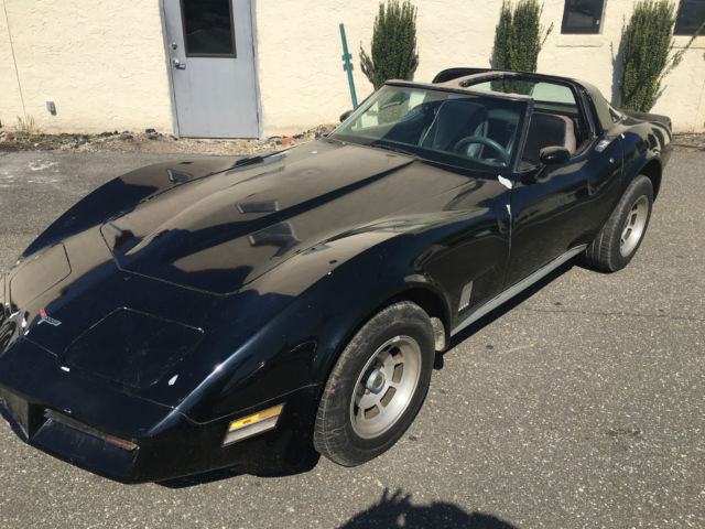 1981 chevy corvette black fully built 400hp 383 crate. Black Bedroom Furniture Sets. Home Design Ideas