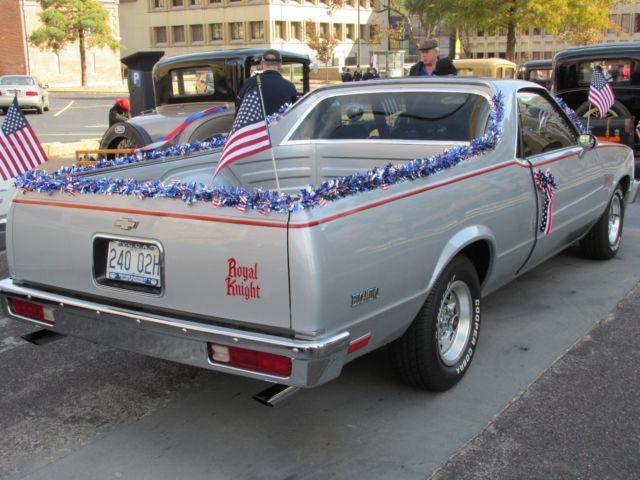 Chevy El Camino Royal Knight Edition
