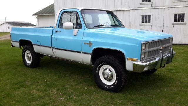 1981 chevy k30 1 ton 4x4 k3500 Dana 60 454 for sale - Chevrolet C/K