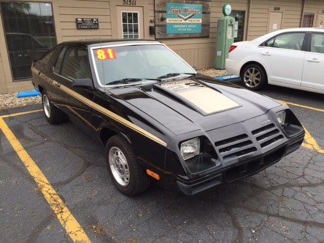 dodge omni  hatchback  door   owner charger option rally pack  sale dodge